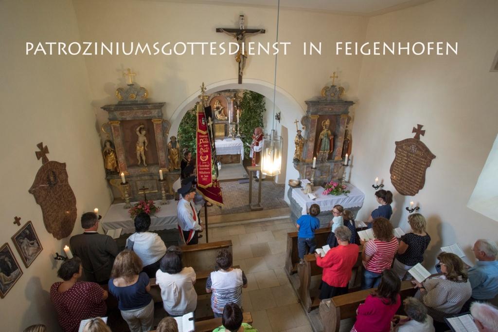 Patrozinium Feigenhofen