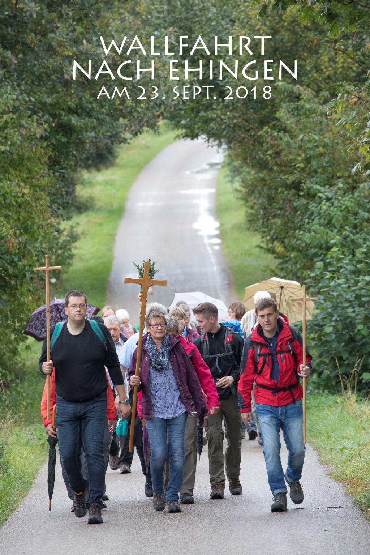 Fußwallfahrt nach Ehingen
