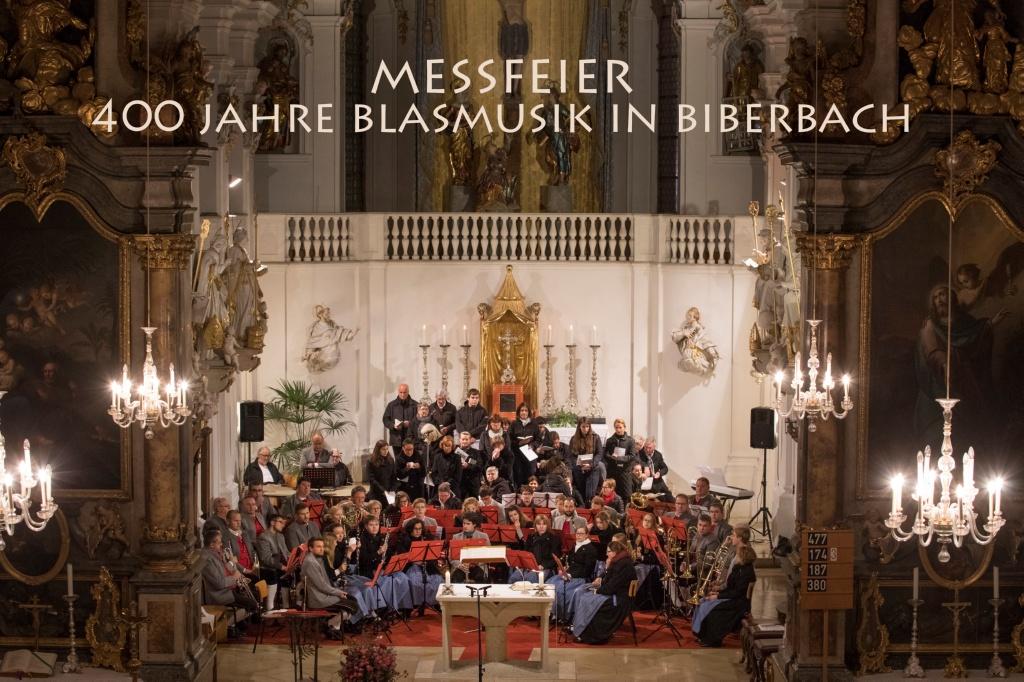 400 Jahre Blasmusik in Biberbach