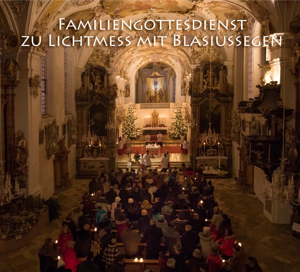 Familiengottesdienst zu Lichtmess mit Blasiussegen