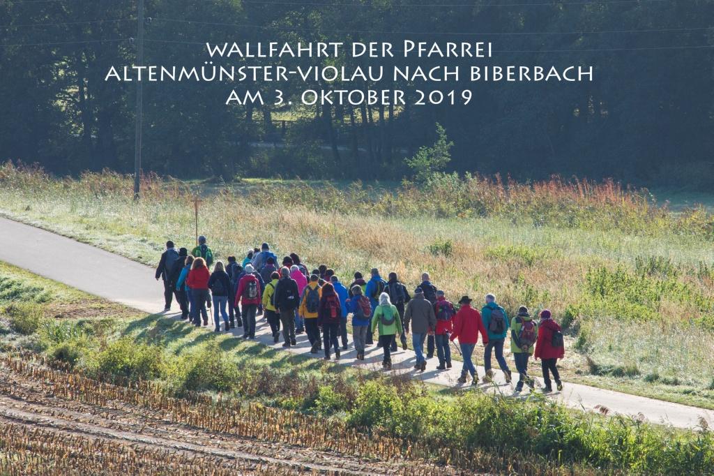 Wallfahrt der PG Altenmünster-Violau