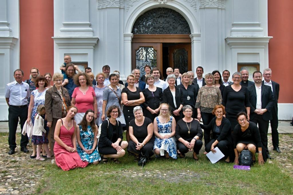 Chor der Wallfahrtskirche Biberbach trifft Freunde in Tschechien