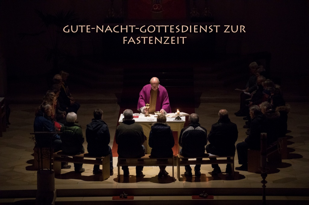 Gute-Nacht-Gottesdienst zur Fastenzeit