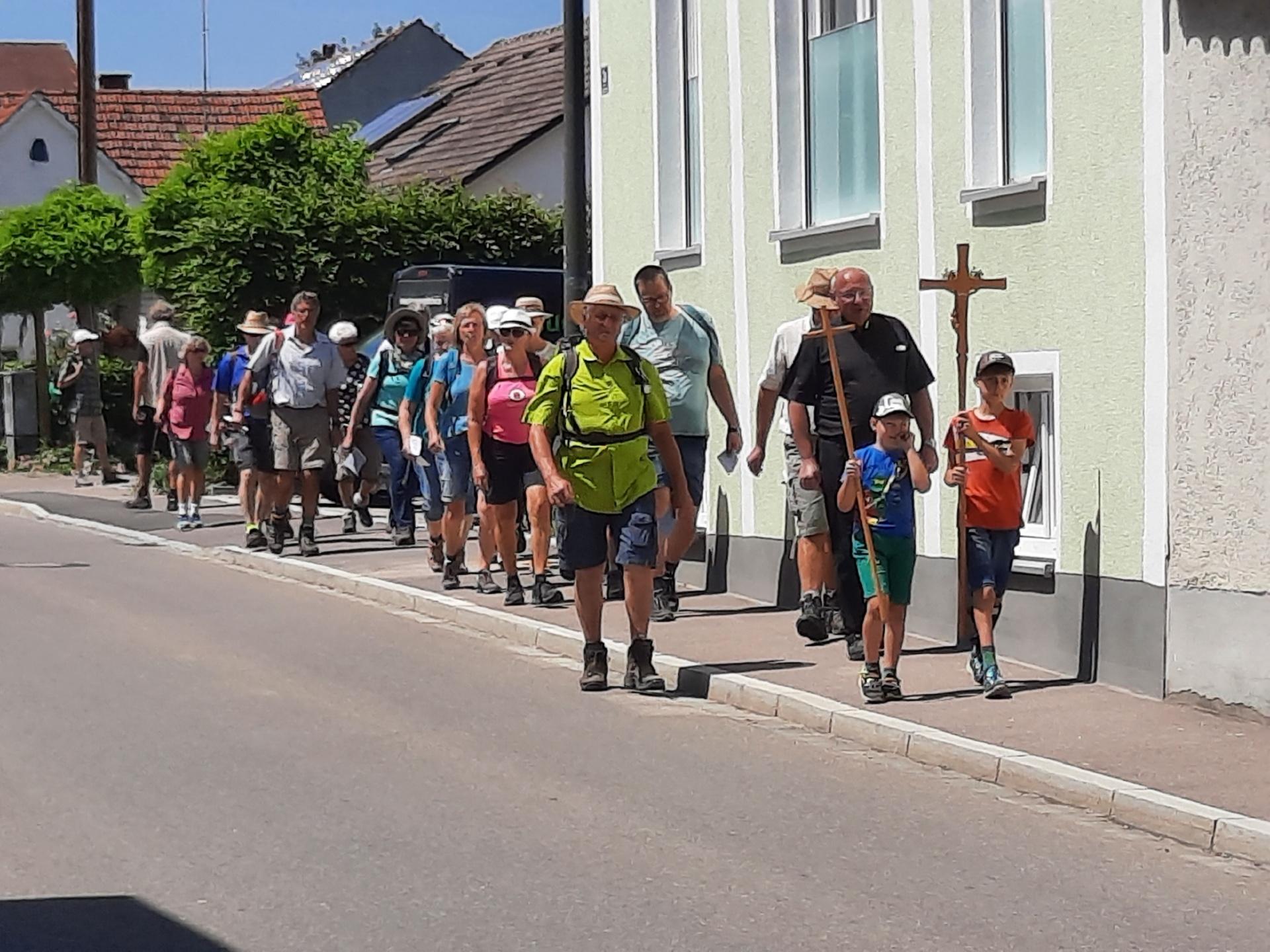 Fußwallfahrt nach Inchenhofen