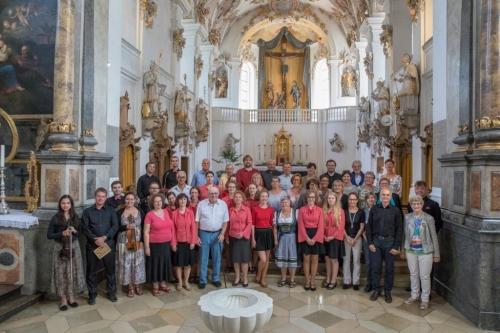 Jägerndorfer Kirchenchor 09